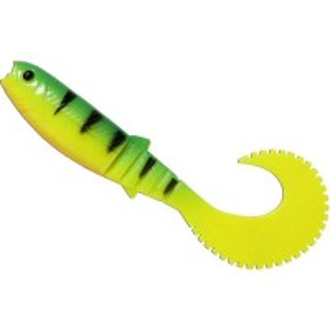 Twister Savage Gear LB Cannibal Curltail, Firetiger, 12.5cm, 3buc/plic