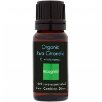 Ulei Organic Anti-Tantari Incognito Java Citronella Oil, 10ml