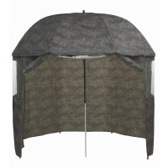 Umbrela cu Paravan Mivardi PVC Full Cover Camou, Ø=250cm