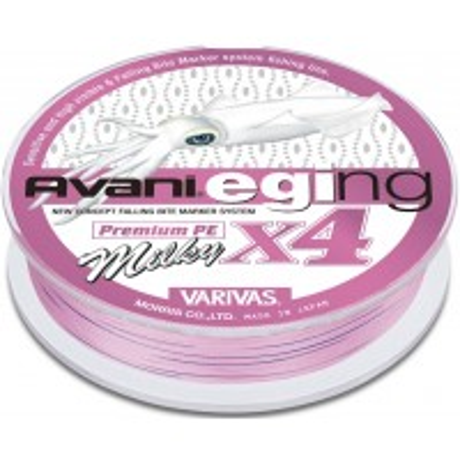 Fir Textil Varivas Avani Eging Premium PE X4, Pink, 150m