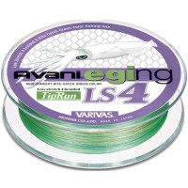 Fir Textil Varivas Avani Eging LS4 PE Tip Run, Green, 200m