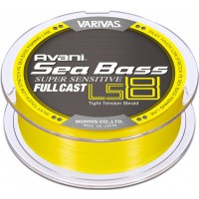 Fir Textil Varivas Avani Seabass PE Super Sensitive LS8 Full Cast, Flat Yellow, 200m