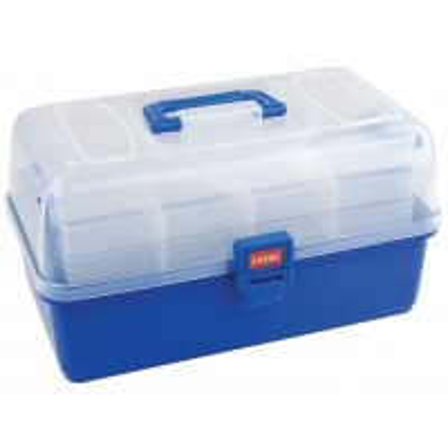 Valigeta Leeda 2 Tray Deluxe Cantilever Box, 34x19x17cm