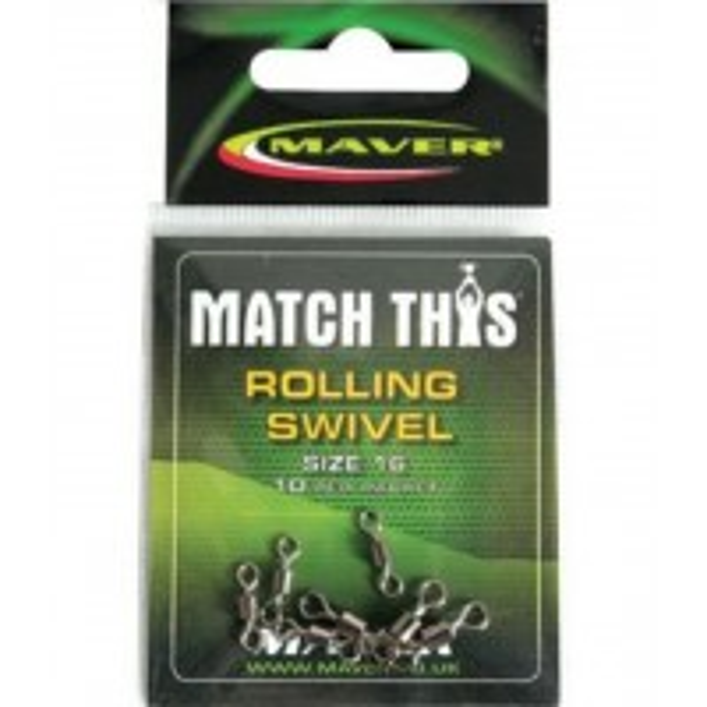 Vartej Rolling Swivel Maver Match This, 10buc/plic