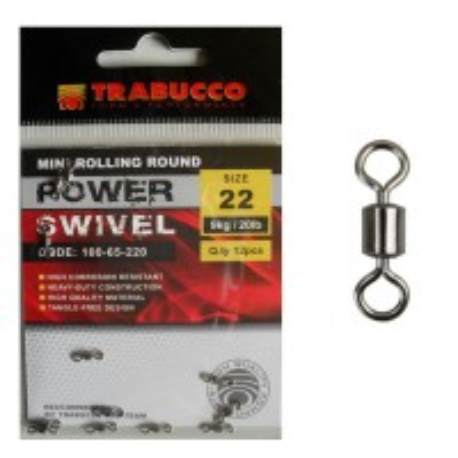 Vartej Trabucco Mini Rolling Round, 12buc/plic