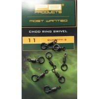 Varteje PB Products Chod Ring Swivel, 8buc/plic