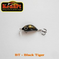 Vobler Kenart Hunter Floating, Black Tiger, 2cm, 1.5g
