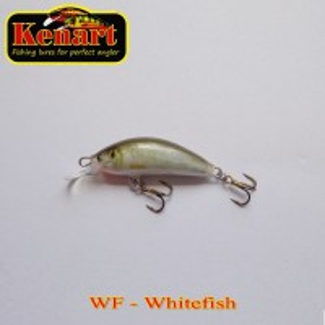 Vobler Kenart Winner Floating, Whitefish, 4.5cm, 3g