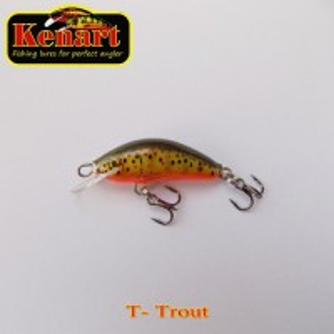 Vobler Kenart Winner Trout 2.5cm 1g
