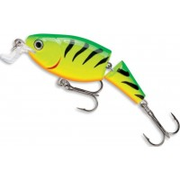 Vobler Rapala Jointed Shallow Shad Rap Suspending, Fire Tiger, 7cm, 11g