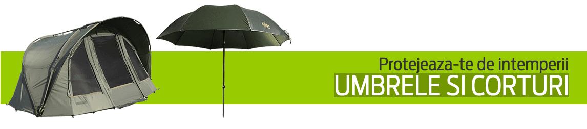corturi, umbrele de pescuit