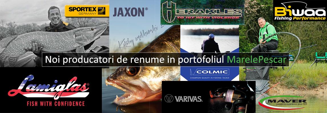 Noi producatori - Maver, Jaxon, Colmic