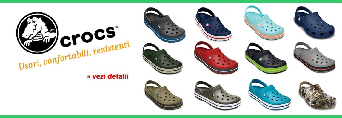 papuci pescuit crocs