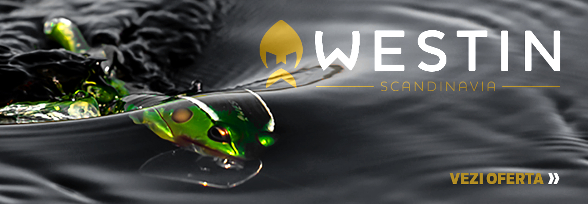 pescuit spinning shad vobler westin