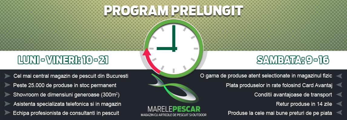 Program prelungit MarelePescar