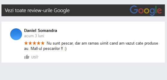 pareri marelepescar google reviews